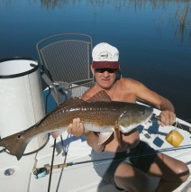 Big Red on the Fly
